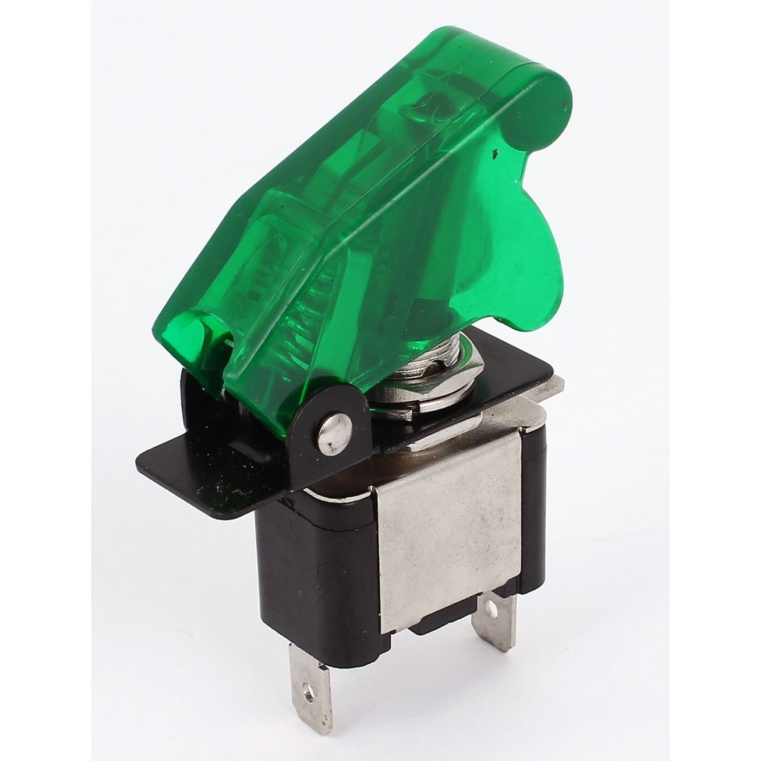 Unique Bargains Green Flip Cover Red Led Lighted Toggle Switch 12v Rocker Spst All Electronics Corp 20a On Off Car Truck Free Shipping Orders Over 45 Overstock 24471650