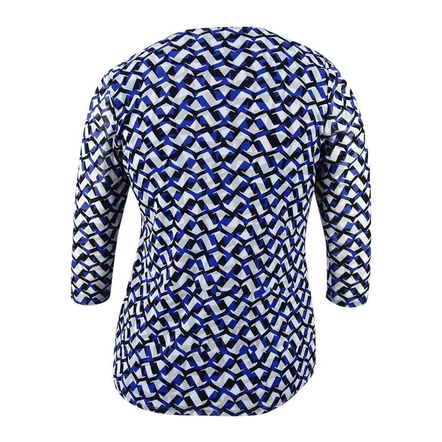 7365f886b52 Shop Alfani Women s Plus Size Tiered Printed Mesh Top (0X