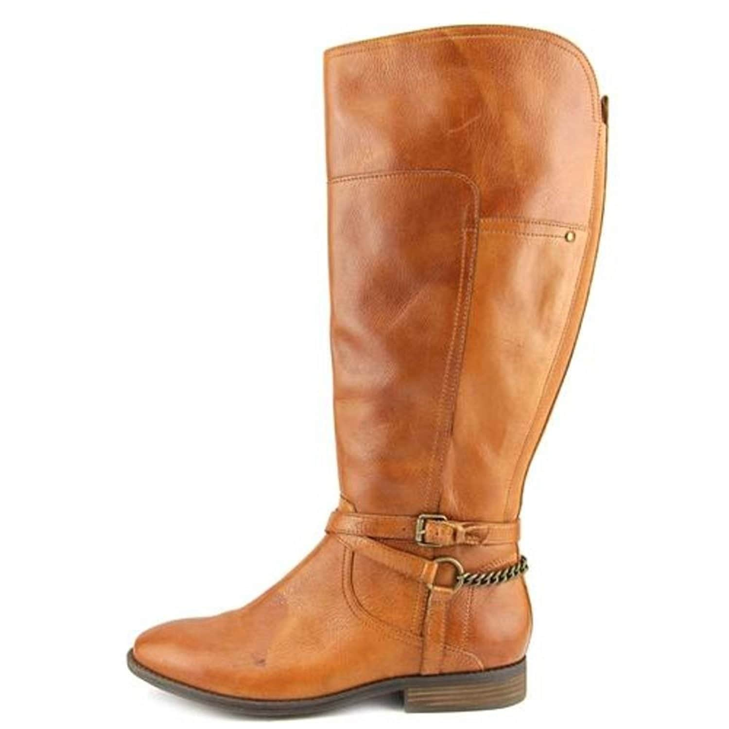 8e065e507bf94 Shop Marc Fisher Womens ALEXIS Leather Closed Toe Mid-Calf Fashion Boots -  Free Shipping On Orders Over $45 - Overstock - 17351881