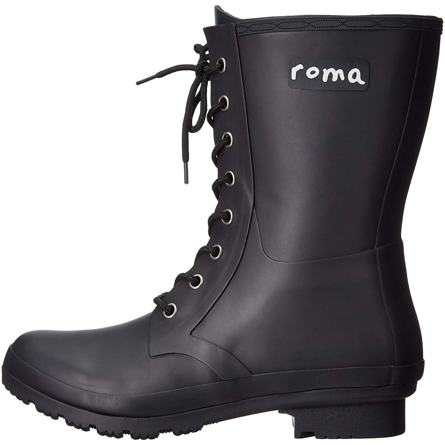 62201a55e Roma Boots Women's EPAGA Short Lace-up Rain Boots
