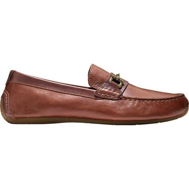 7432eb15700 Shop Cole Haan Men s Somerset Link Bit Driver Moc Woodbury Leather - Free  Shipping Today - Overstock - 21656033
