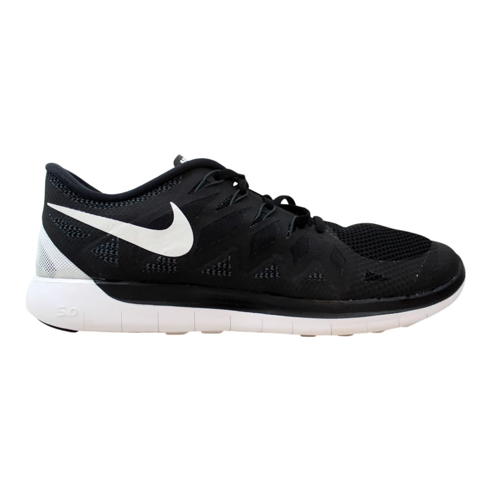 new product 61bf5 d4bf5 Nike Free 5.0 Black White-Anthracite Men s 642198-001 Size 14 Medium