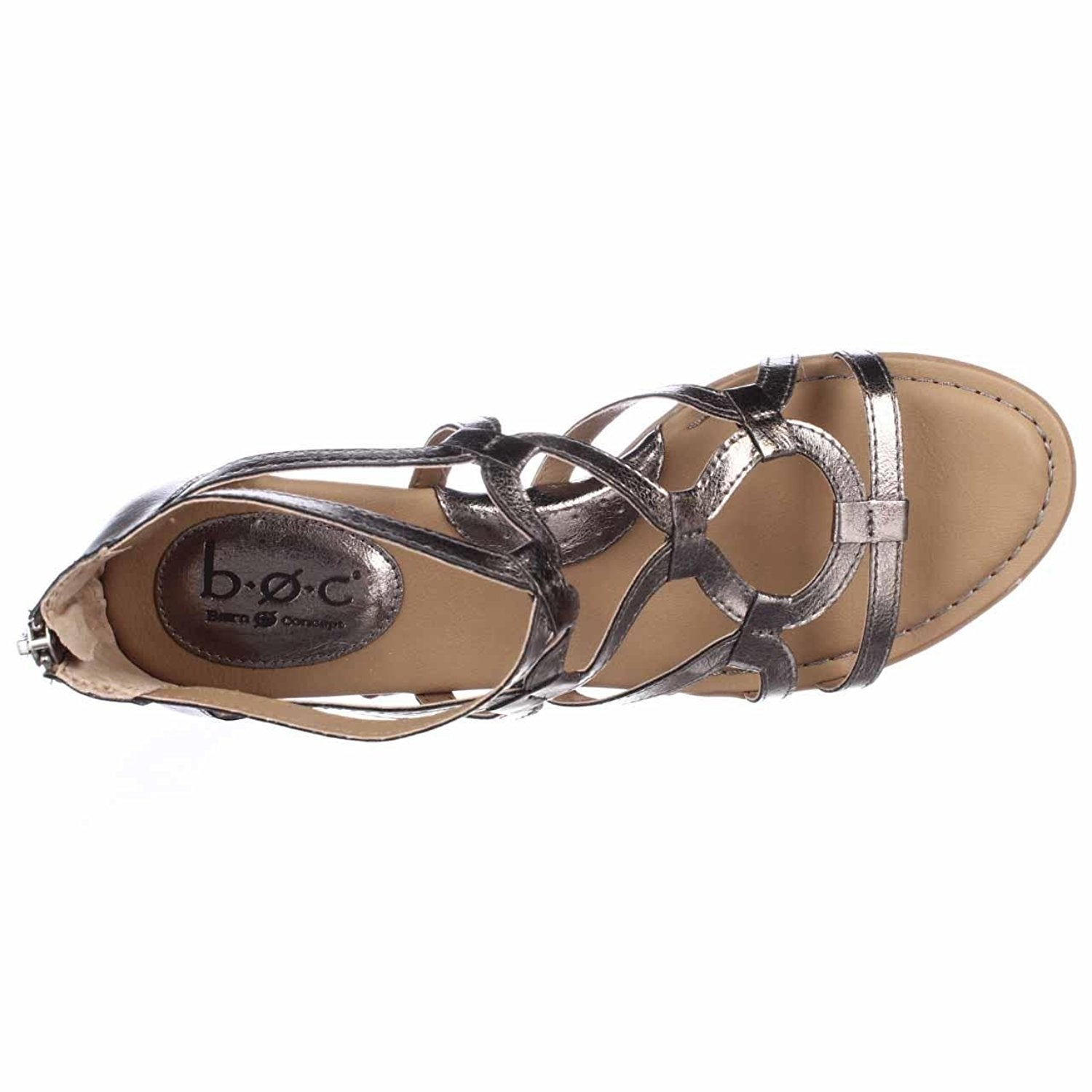 9779cd792dd4 Shop B.O.C Womens Pawel Open Toe Casual Gladiator Sandals - Free Shipping  On Orders Over  45 - Overstock - 19679372