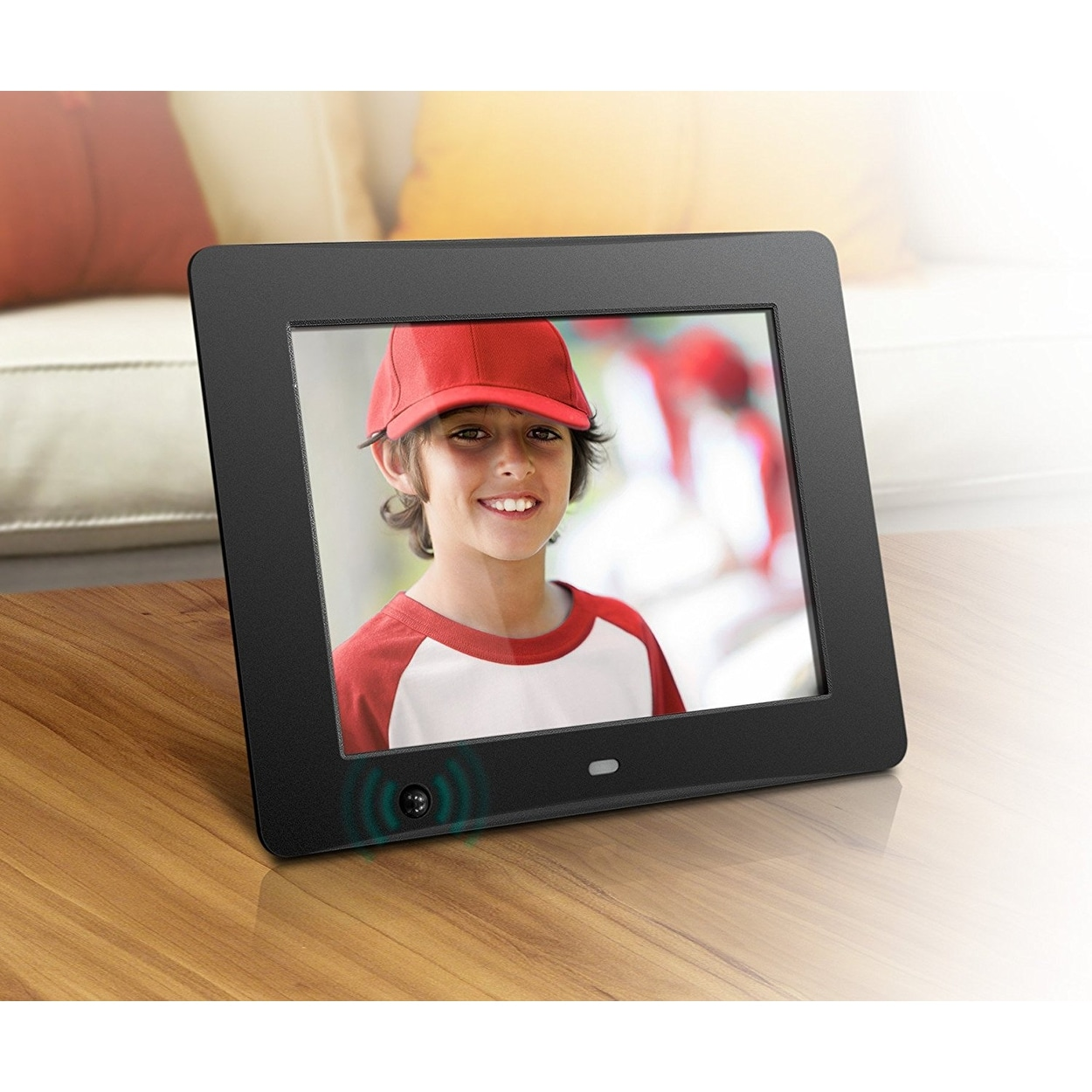 Shop Aluratek Admpf108f 8 Inch Hi Res Digital Photo Frame With 512mb