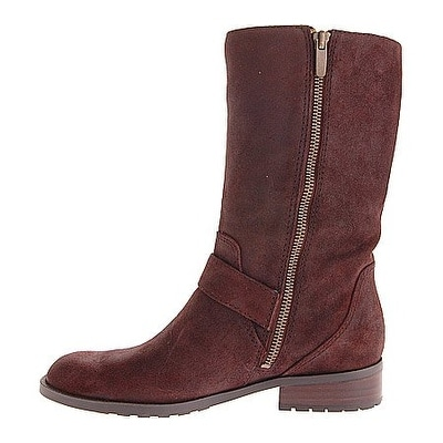 Shop Enzo Angiolini Women s Side Motorcycle Mid Calf Boots - 10 - Free  Shipping Today - Overstock - 16844508 3da4b73f5