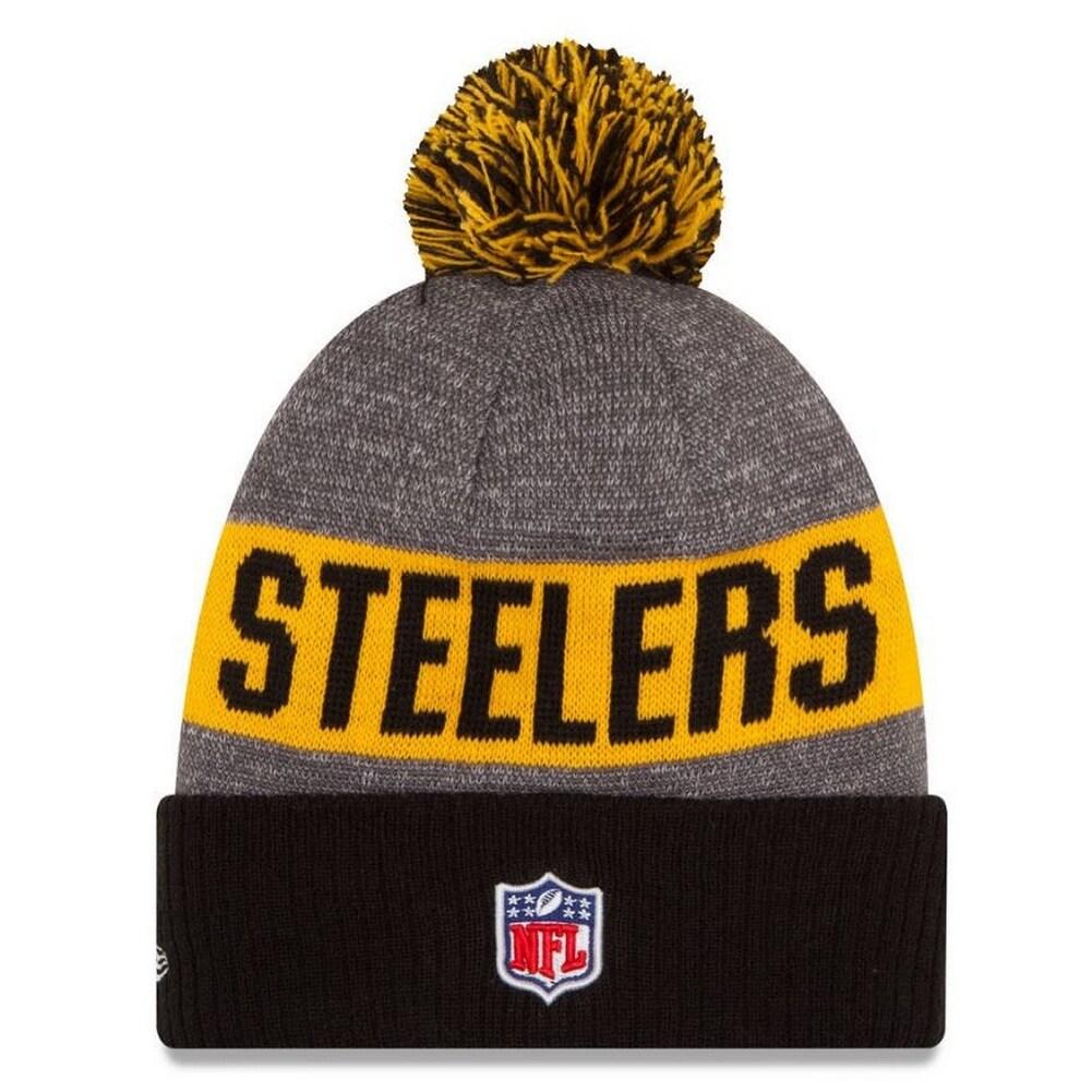 b4ee9ca0 New Era Pittsburgh Steelers Beanie Sideline Knit Cap Hat NFL Team Sport  11289062