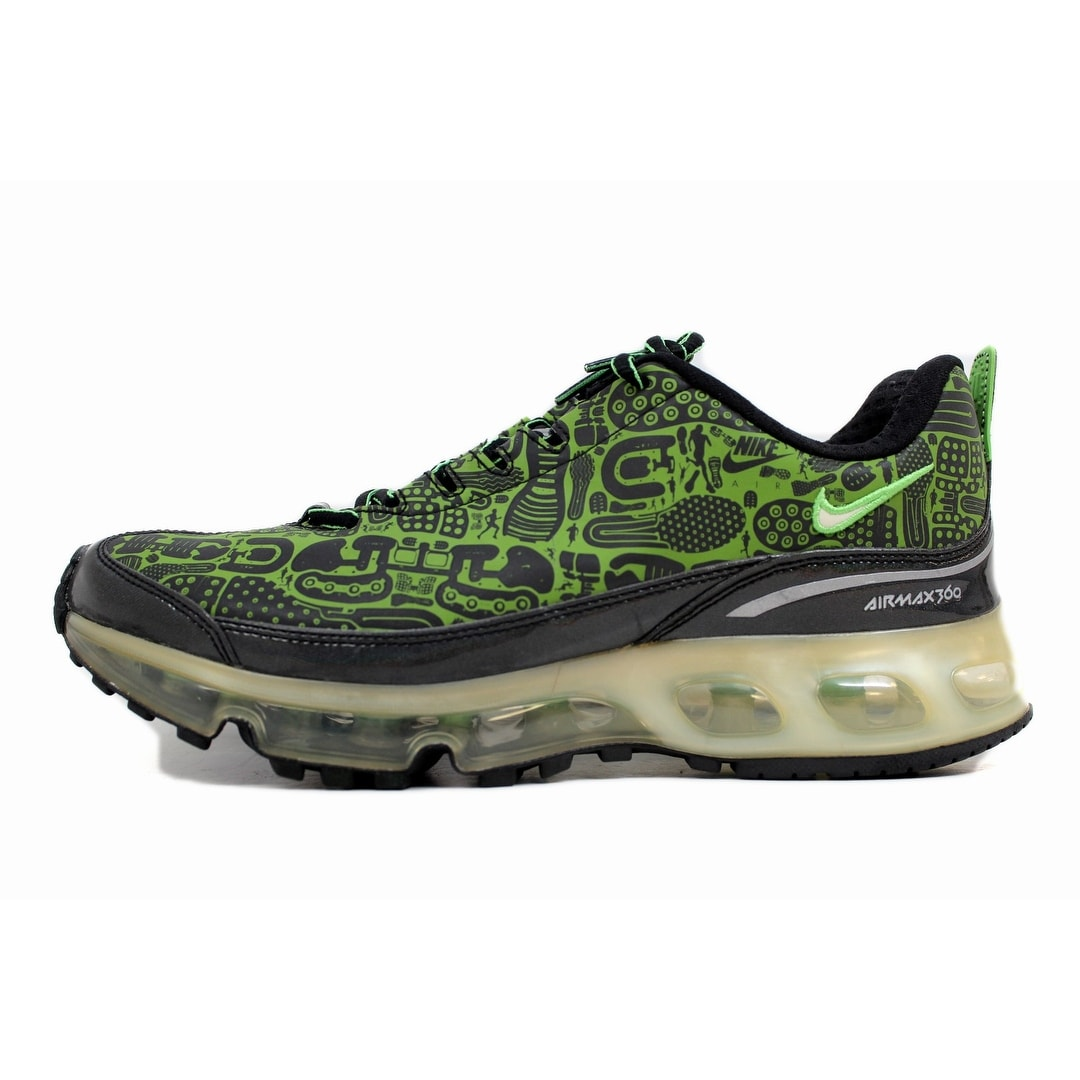 8ed97698bf Shop Nike Air Max 360 Rejuvenation Black/Green Bean-White 313520-031 Men's  - Free Shipping Today - Overstock - 20139454