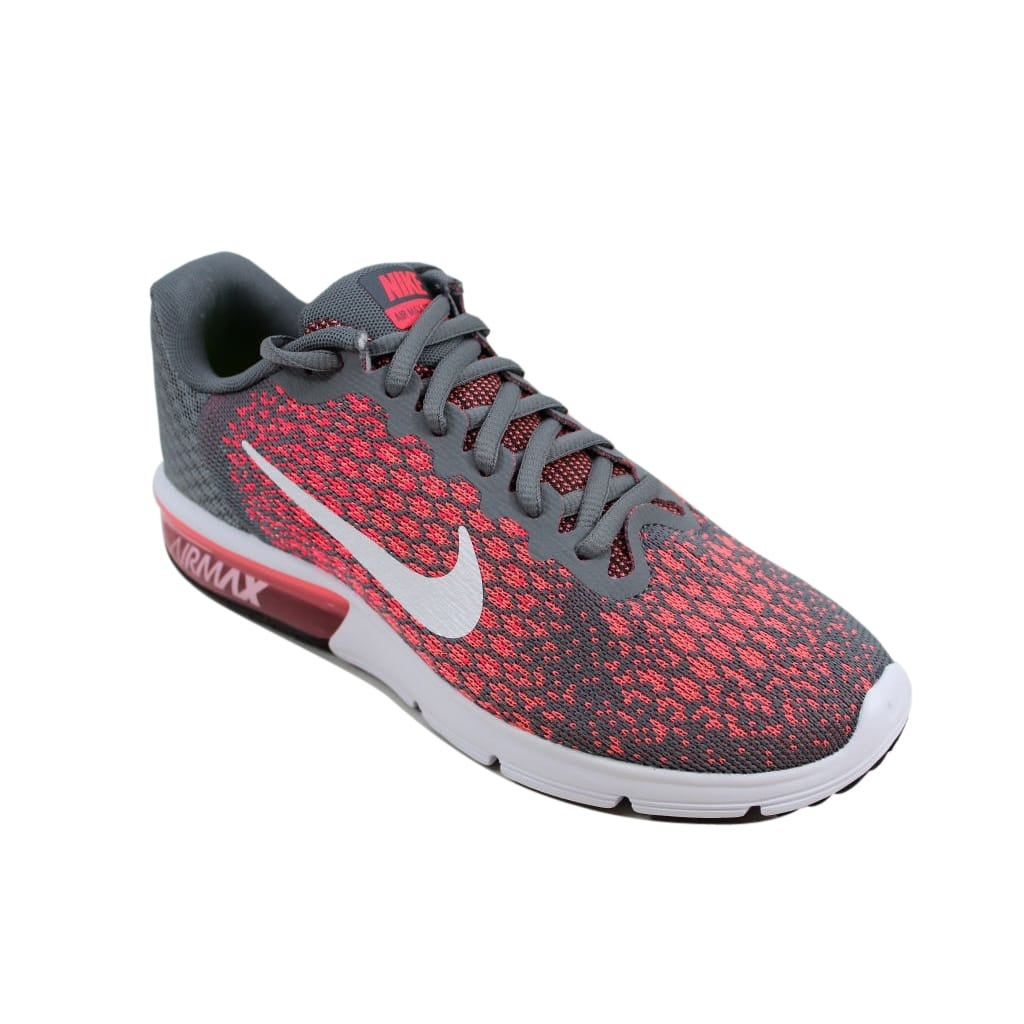 1583104ee6dc Shop Nike Women s Air Max Sequent 2 Cool Grey White-Hot Punch852465-003 -  On Sale - Free Shipping Today - Overstock - 24015748