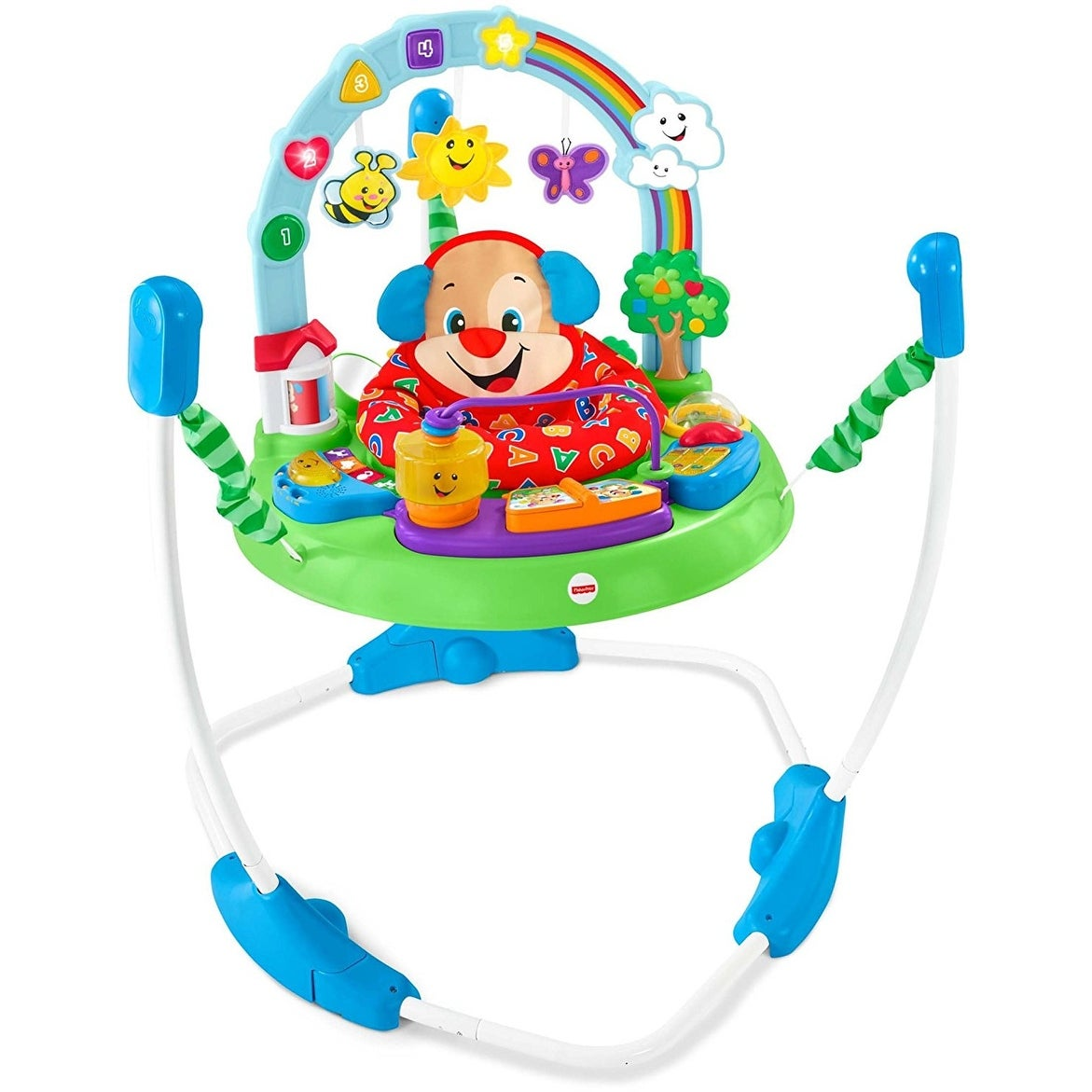 Shop Fisher Price Laugh Learn Puppys Activity Jumperoo Free Infant Learning Toaster Shipping Today 21423159