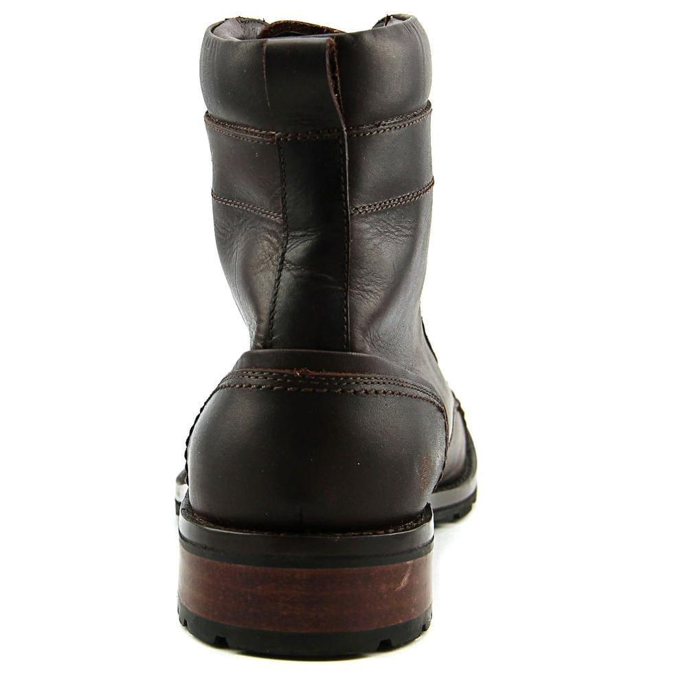 1cdd7deb7b8 Wolverine Reese Men Cap Toe Leather Brown Boot