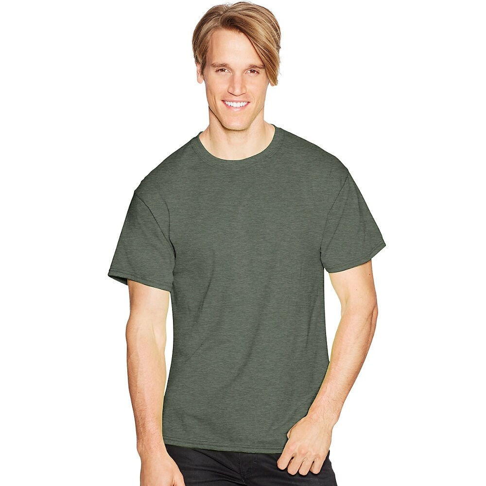 39f93cc4 Hanes Mens 3 Pack Comfortblend White V Neck T Shirt | RLDM