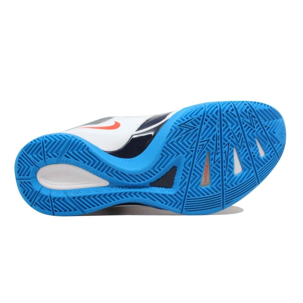 4dbb116f13f Shop Nike Zoom KD III 3 White White-Team Orange-Photo Blue Kevin Durant OKC  Home Men s 417279-107 Size 7.5 Medium - On Sale - Free Shipping Today ...