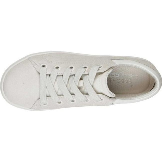 09389682c3bc Shop Skechers Women s Street Cleat Back Again Sneaker Off White - Free  Shipping Today - Overstock - 25578220