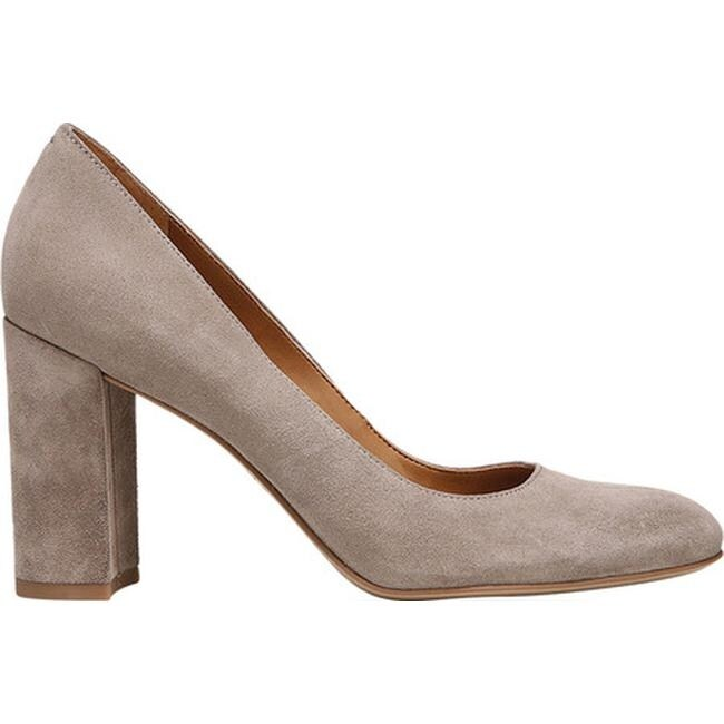 b0f31ac6bd87 Shop Sarto by Franco Sarto Women s Aziza Pump Warm Stone Suede - Free  Shipping Today - Overstock - 22863444