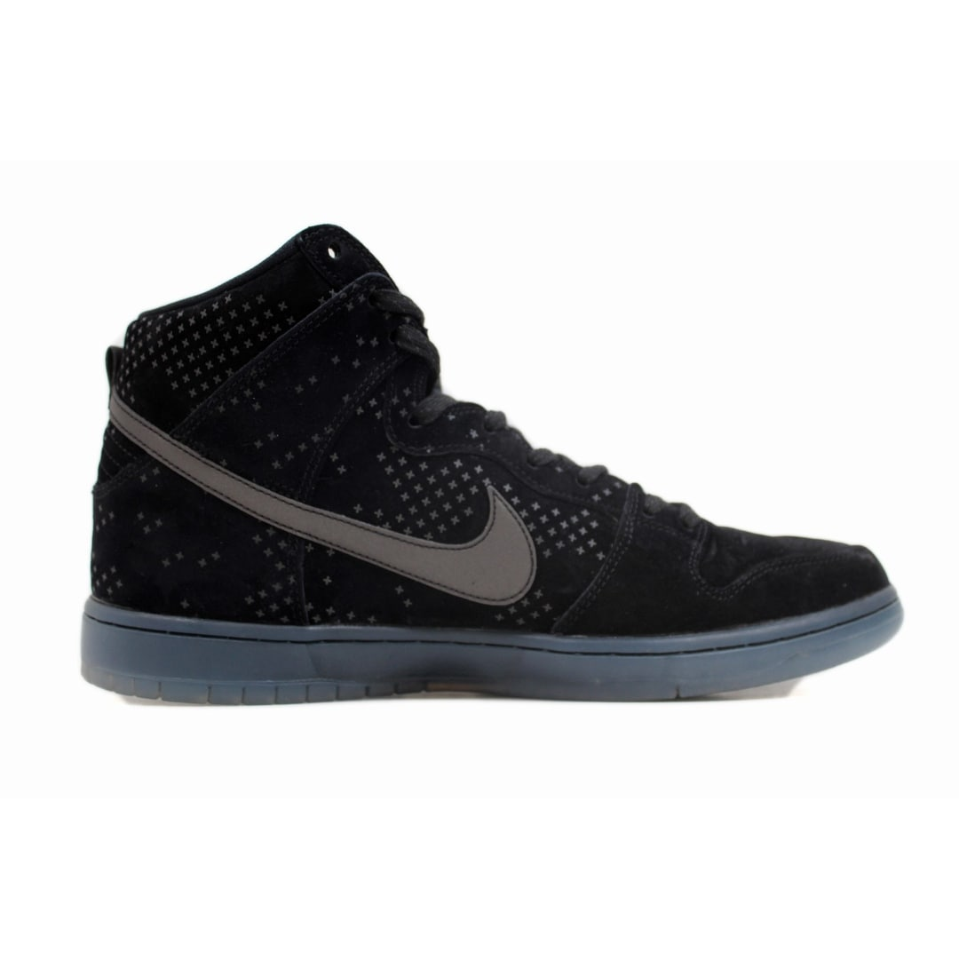 reputable site a9744 569a2 Shop Nike Men s Dunk High Premium Flash SB Black Black-Clear 806333-001 -  Free Shipping Today - Overstock - 20131661