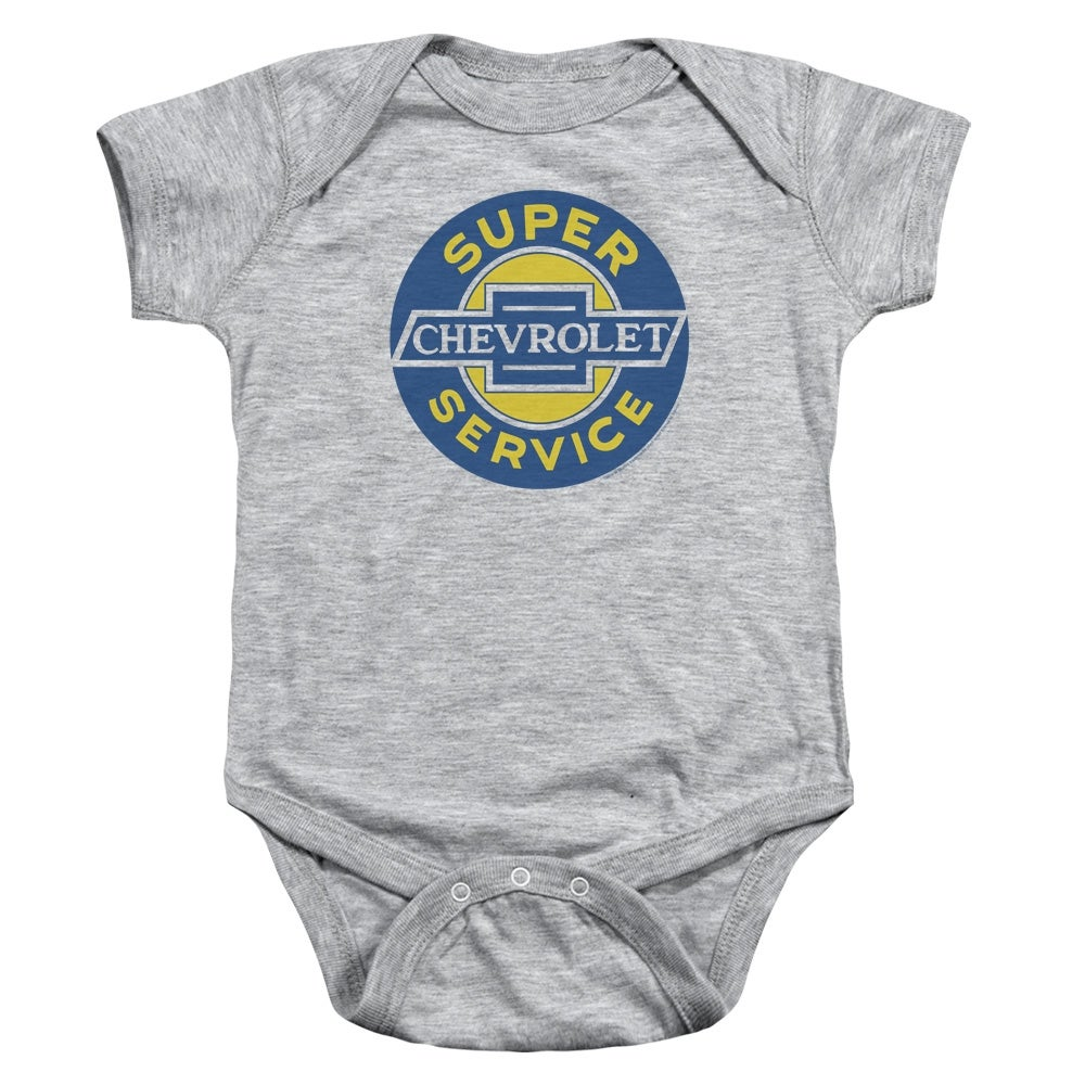 Chevy Chevy Super Service Unisex Baby Snapsuit