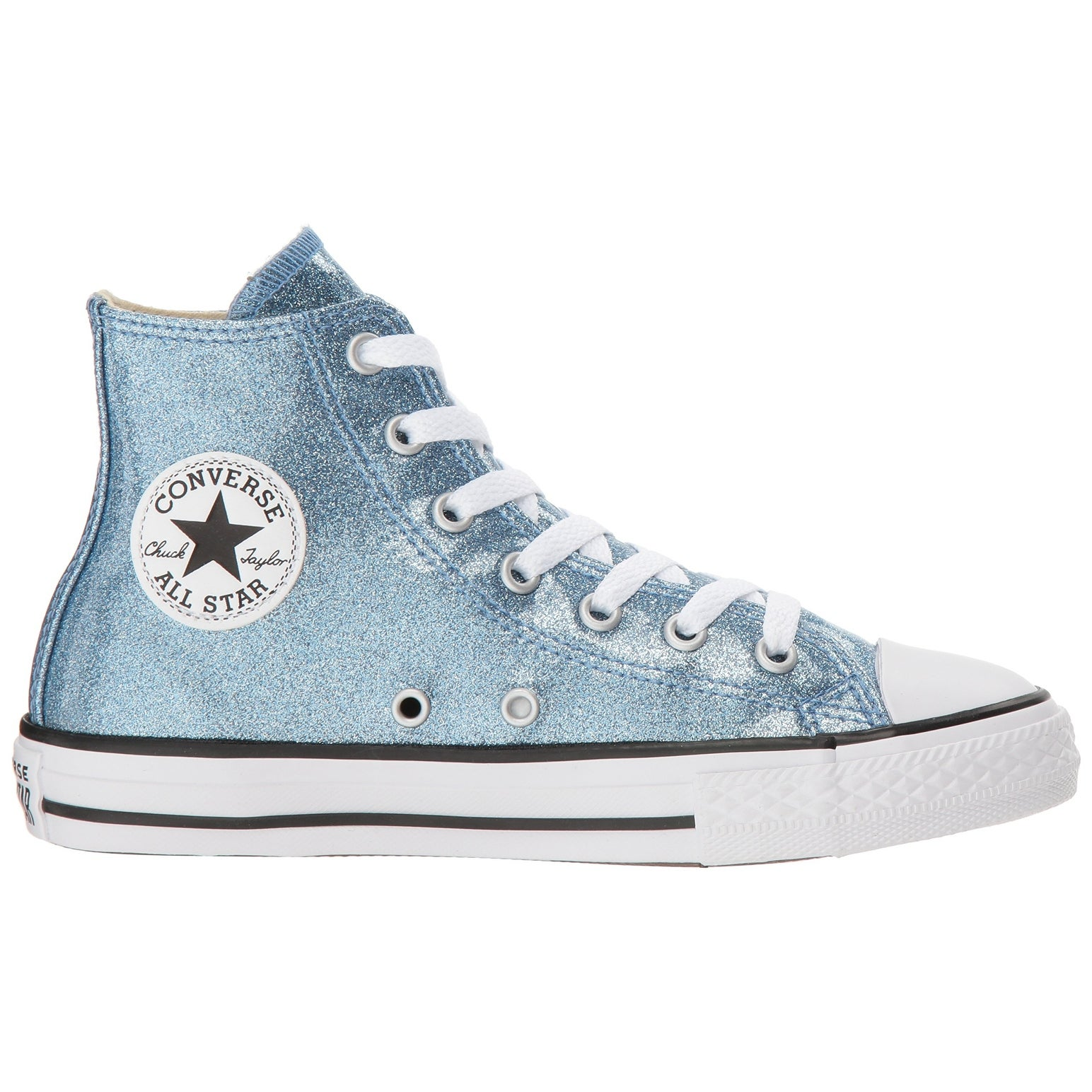 9e071e7c96e Shop Kids Converse Girls Chuck Taylor All Star High Top Hight Top Lace Up  Fashion ... - Free Shipping On Orders Over $45 - Overstock - 26056630