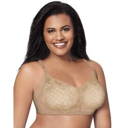 b3f2fa2a6f Shop Just My Size Undercover Slimming Wirefree Bra with SlenderU® Panels -  Size - 40B - Color - Nude Moonlight - Free Shipping On Orders Over  45 ...