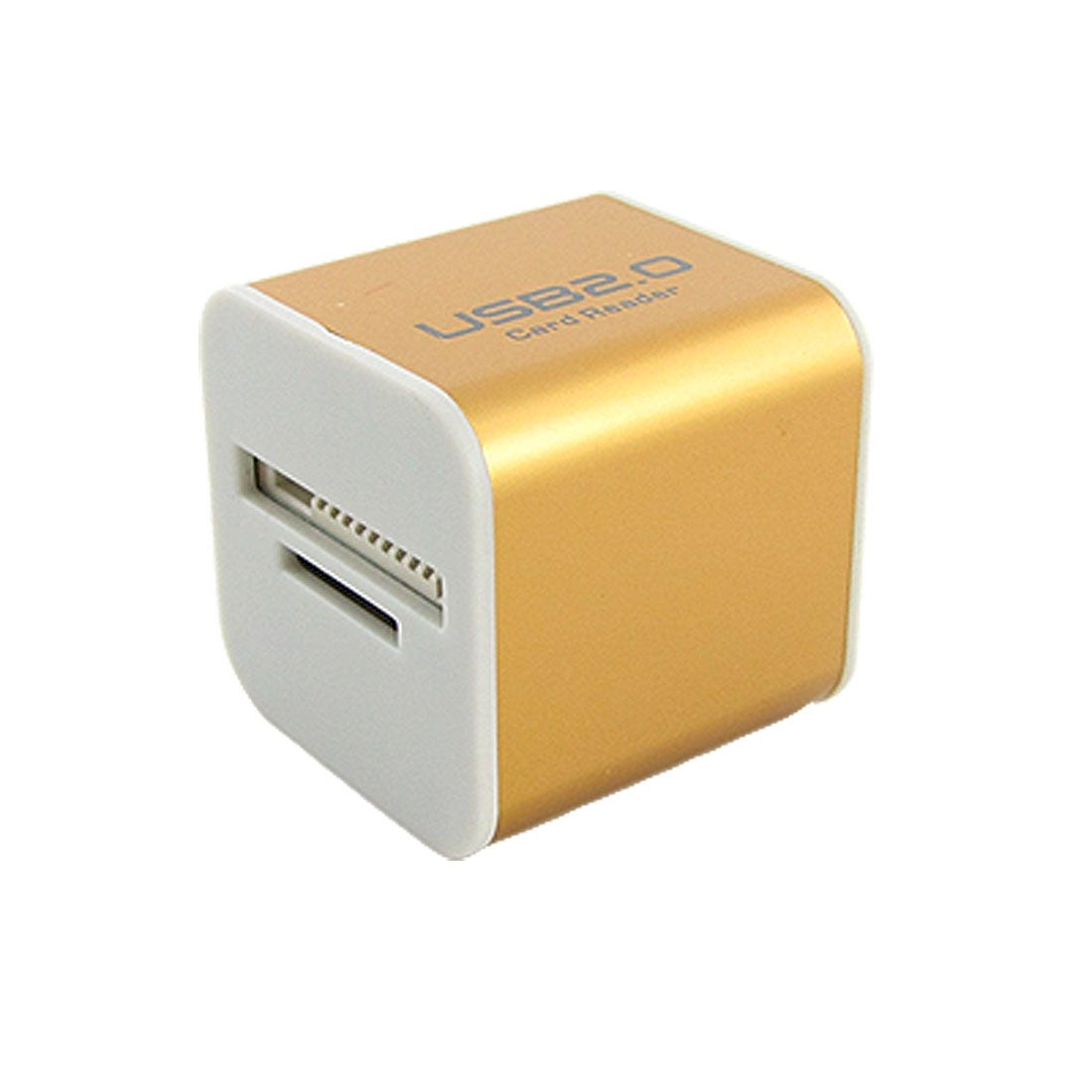 Unique Bargains Laptop Pc Mini Sd Mmc Card Reader Gold Tone W Usb Transcend Rdf8 30 Black Cable Free Shipping On Orders Over 45 Overstock 23864378