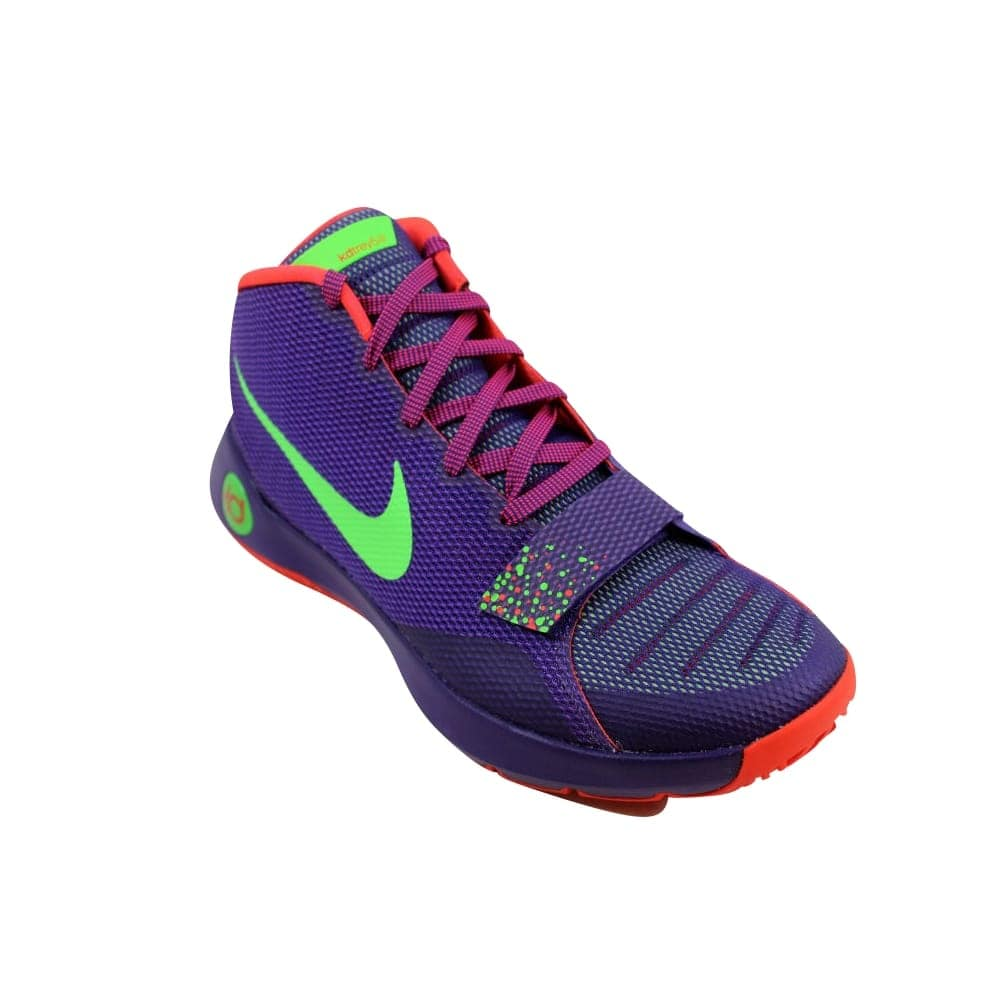 official photos b4847 43a4a Shop Nike KD Trey 5 III Court Purple Green Streak-Bright Crimson 749377-536  Men s - On Sale - Free Shipping Today - Overstock - 27339967