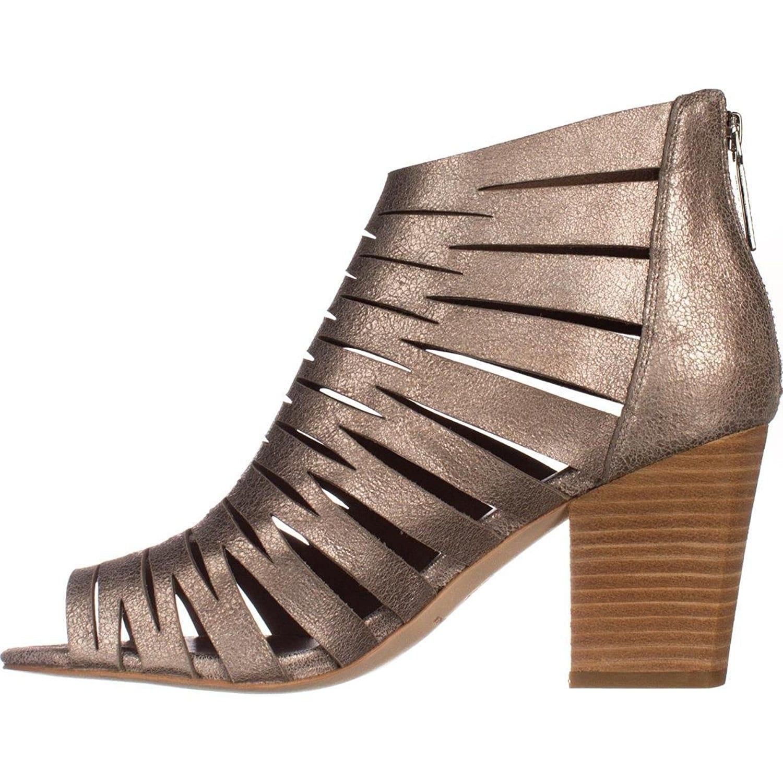 3b37dde68c7 Shop Donald J Pliner Womens Greece Leather Peep Toe Casual Strappy ...