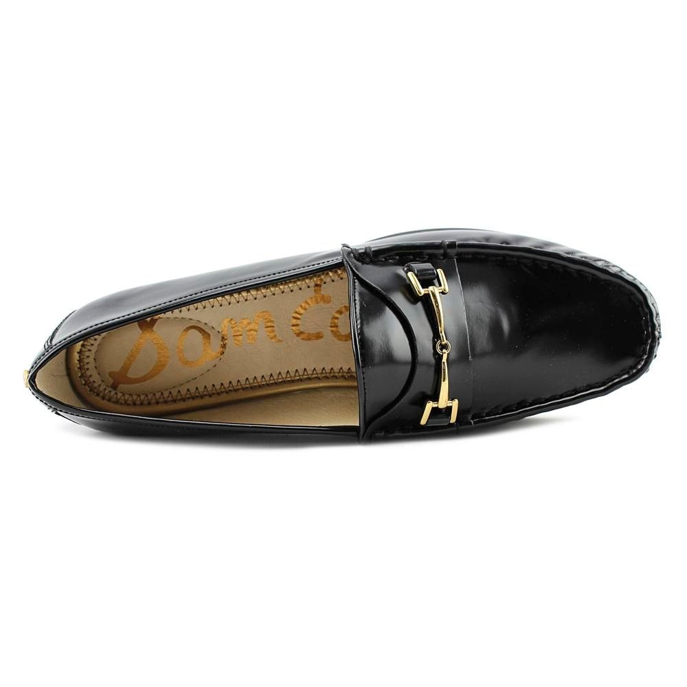 a7f0cfea229f Shop Sam Edelman Talia Loafer Women Round Toe Leather Black Loafer - Free  Shipping Today - Overstock - 19295291