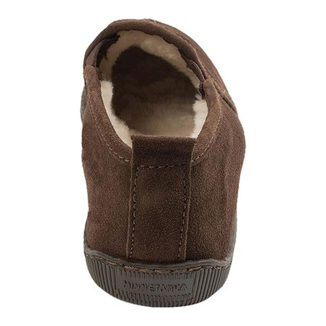 6a1314a50518 Shop Minnetonka Men s Pile Lined Romeo Slipper Chocolate Suede - Free  Shipping Today - Overstock - 11945683