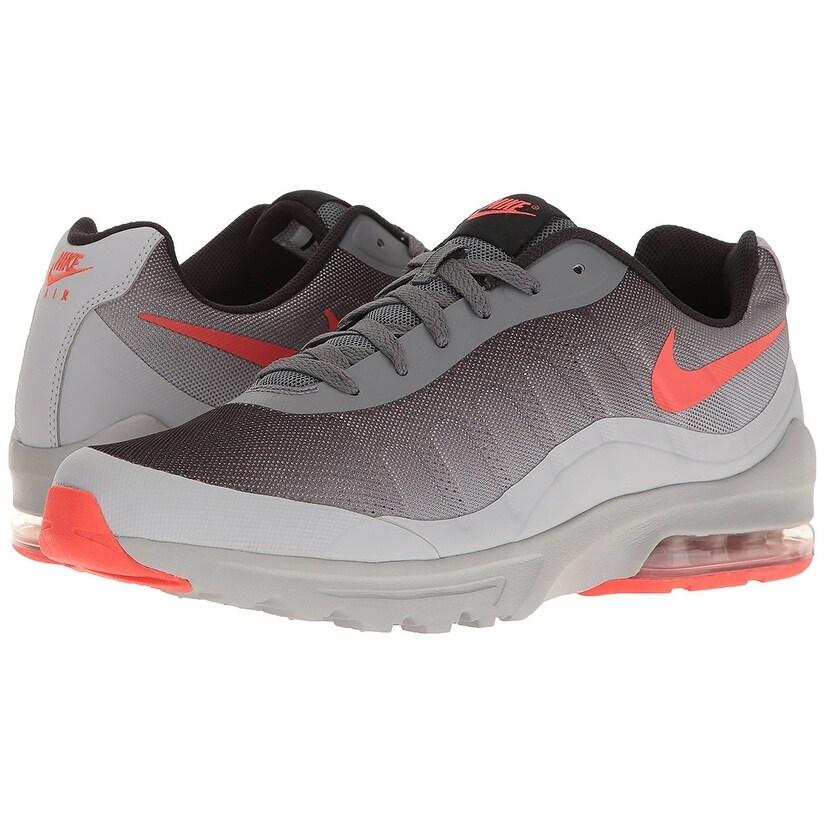 the best attitude 0eb4a b7ee8 Shop Nike Men s Air Max Invigor Print Running Shoe, Dark Grey Max  Orange Wolf Grey Black, 10 D(M) US - Free Shipping Today - Overstock -  18276078