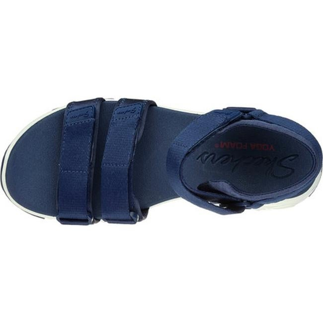 5ba9ee7d02c4 Shop Skechers Women s D Lites Fresh Catch Ankle Strap Sandal Navy - Free  Shipping On Orders Over  45 - Overstock - 14810534