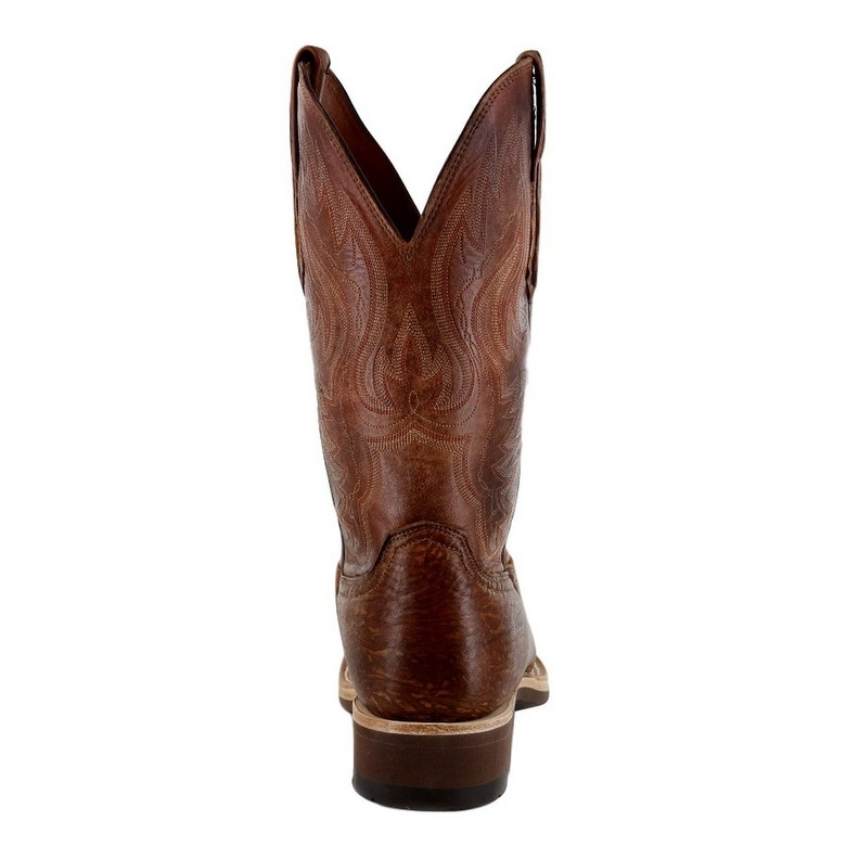 650221010fb Lucchese Western Boots Mens Bison Pearwood Cognac .W8S