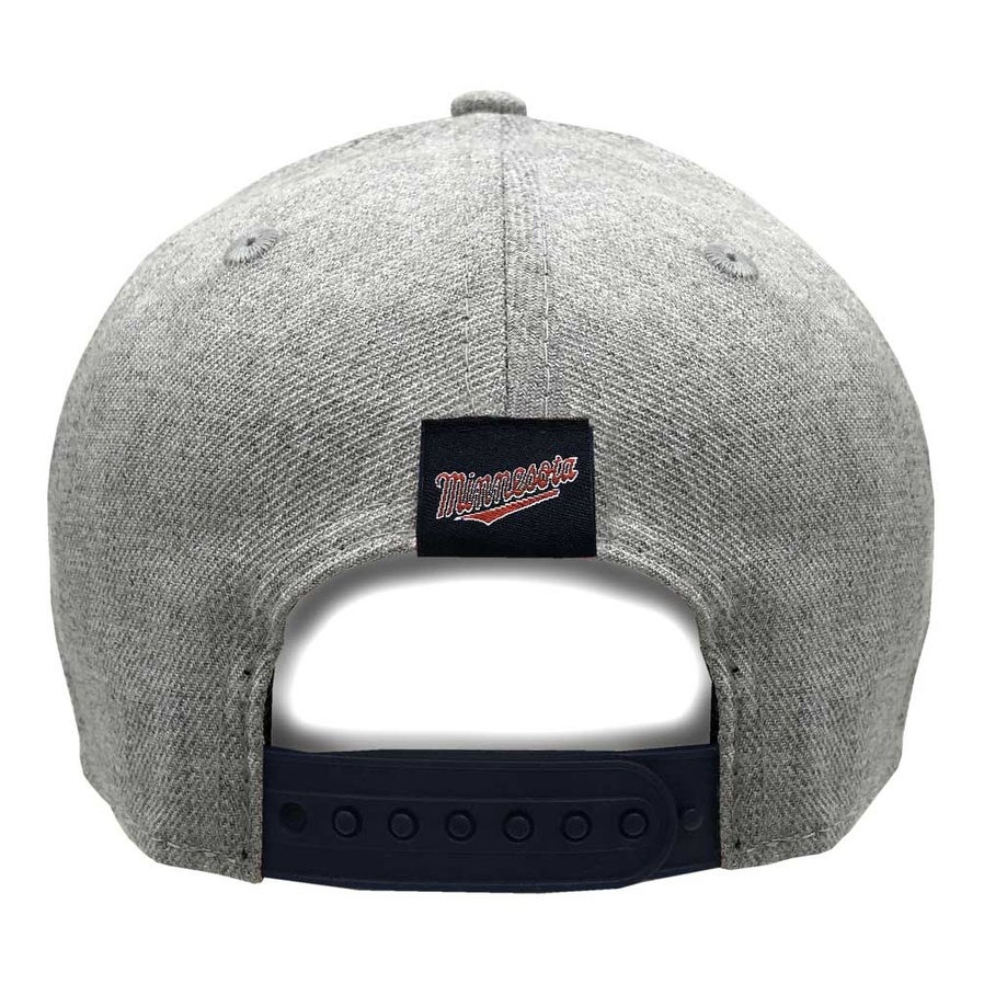 reputable site 108b1 048a7 Shop New Era 2019 MLB Minnesota Twins Baseball Cap Hat 9Forty Adjust Heather  Gray - Free Shipping On Orders Over  45 - Overstock - 27093345