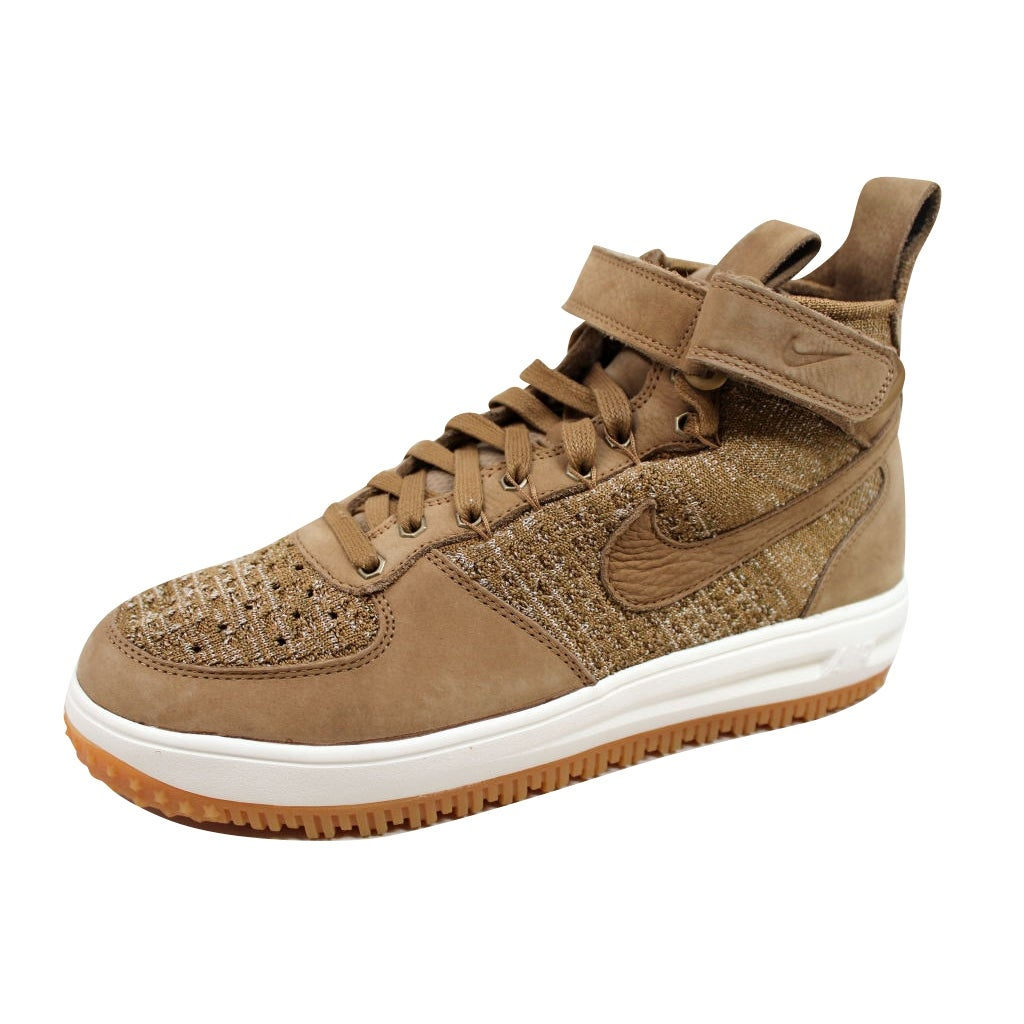 online store 61964 e4e5d Shop Nike Men s Lunar Force 1 Flyknit Workboot Golden Beige Sail-Olive Flak  855984-200 - Ships To Canada - Overstock - 19739988