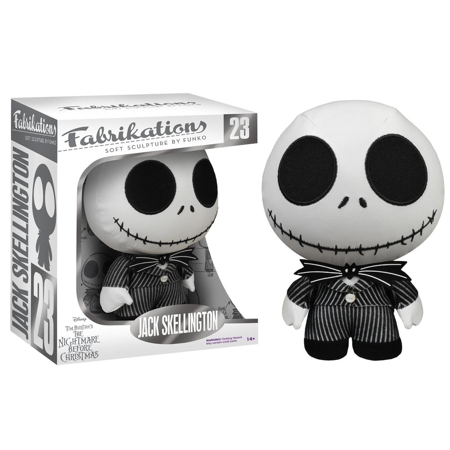 Shop Nightmare Before Christmas Funko Fabrikations Plush Jack ...