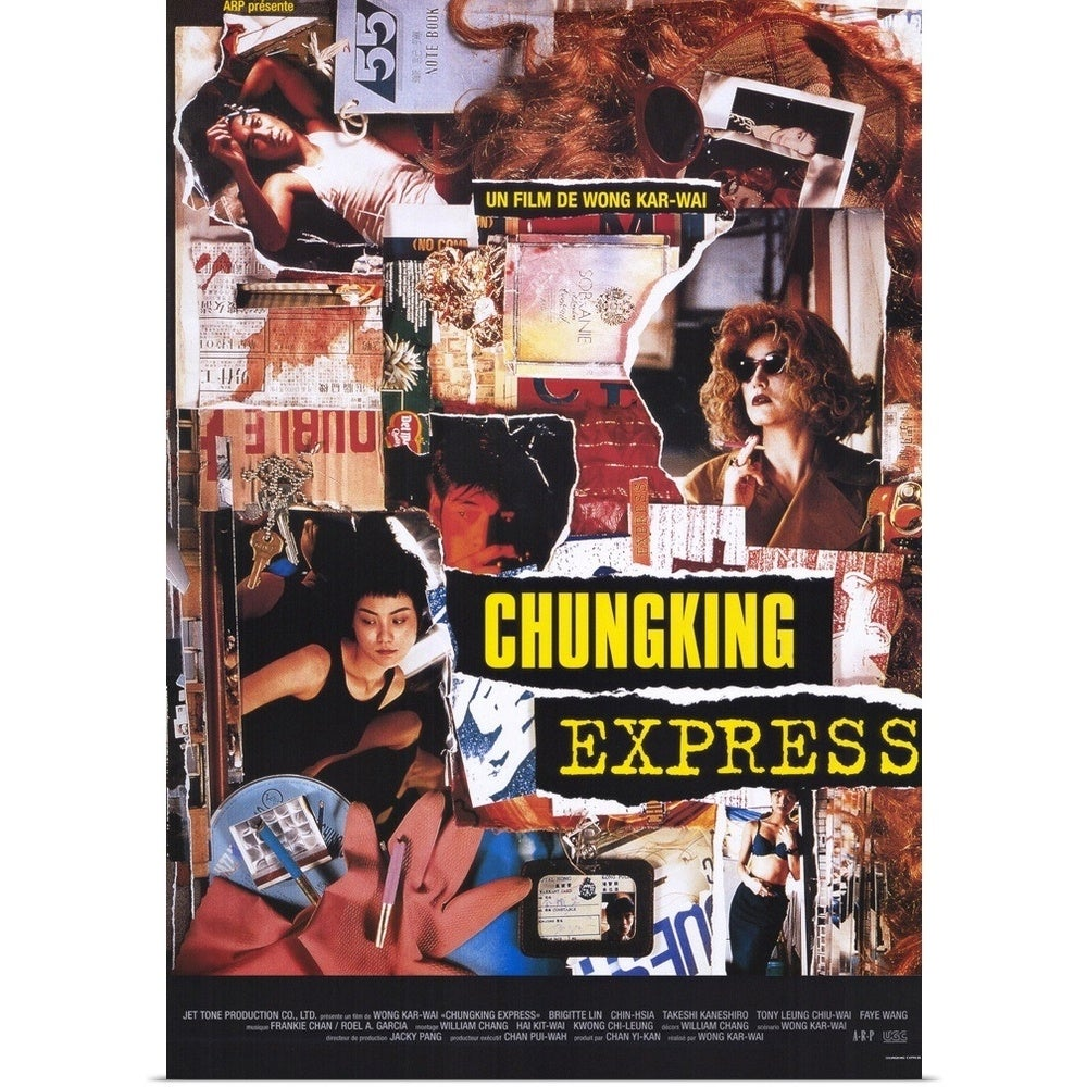 Shop Poster Print Entitled Chungking Express 1995 Multi Color