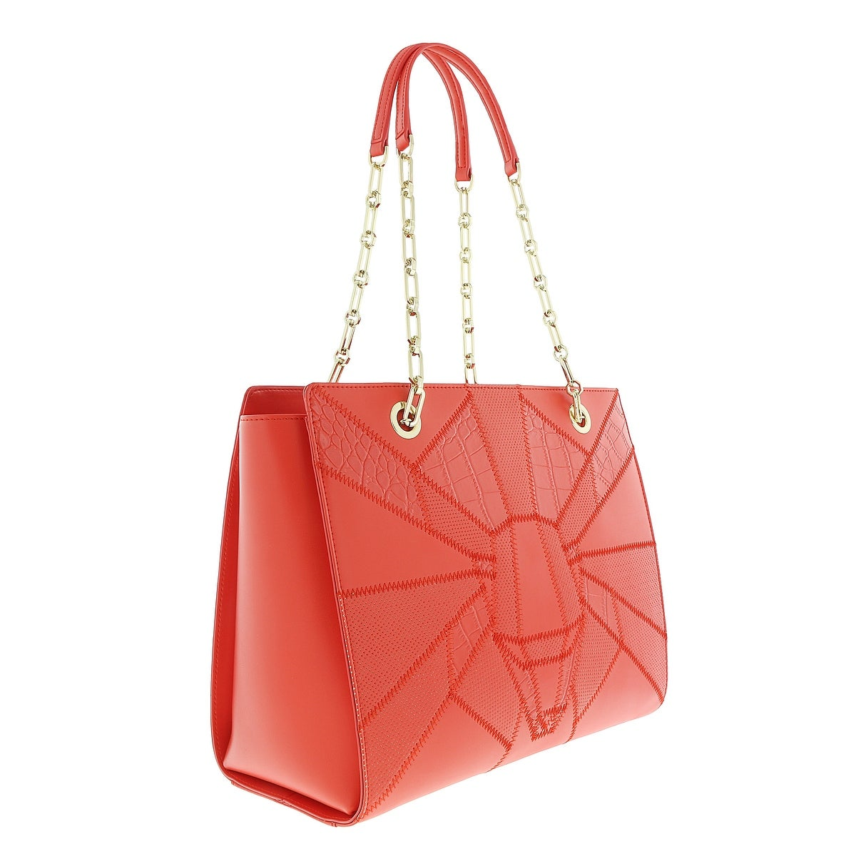 8ecfe0d97 Shop Class Roberto Cavalli Elisabeth 003 Coral Shopping Bag - Free ...