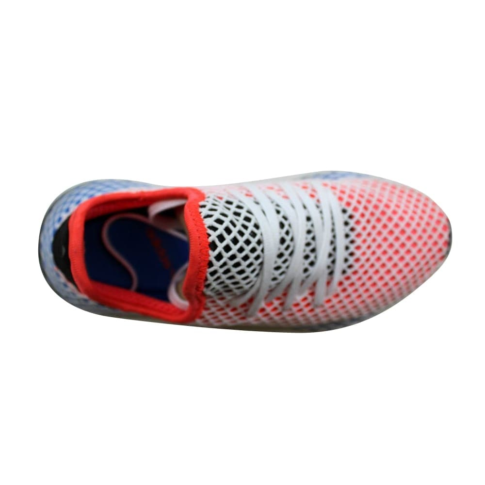 60ab61ea35554 Shop Adidas Deerupt Runner W Solar Red Blue AC8466 Women s - On Sale - Free  Shipping Today - Overstock - 27339827