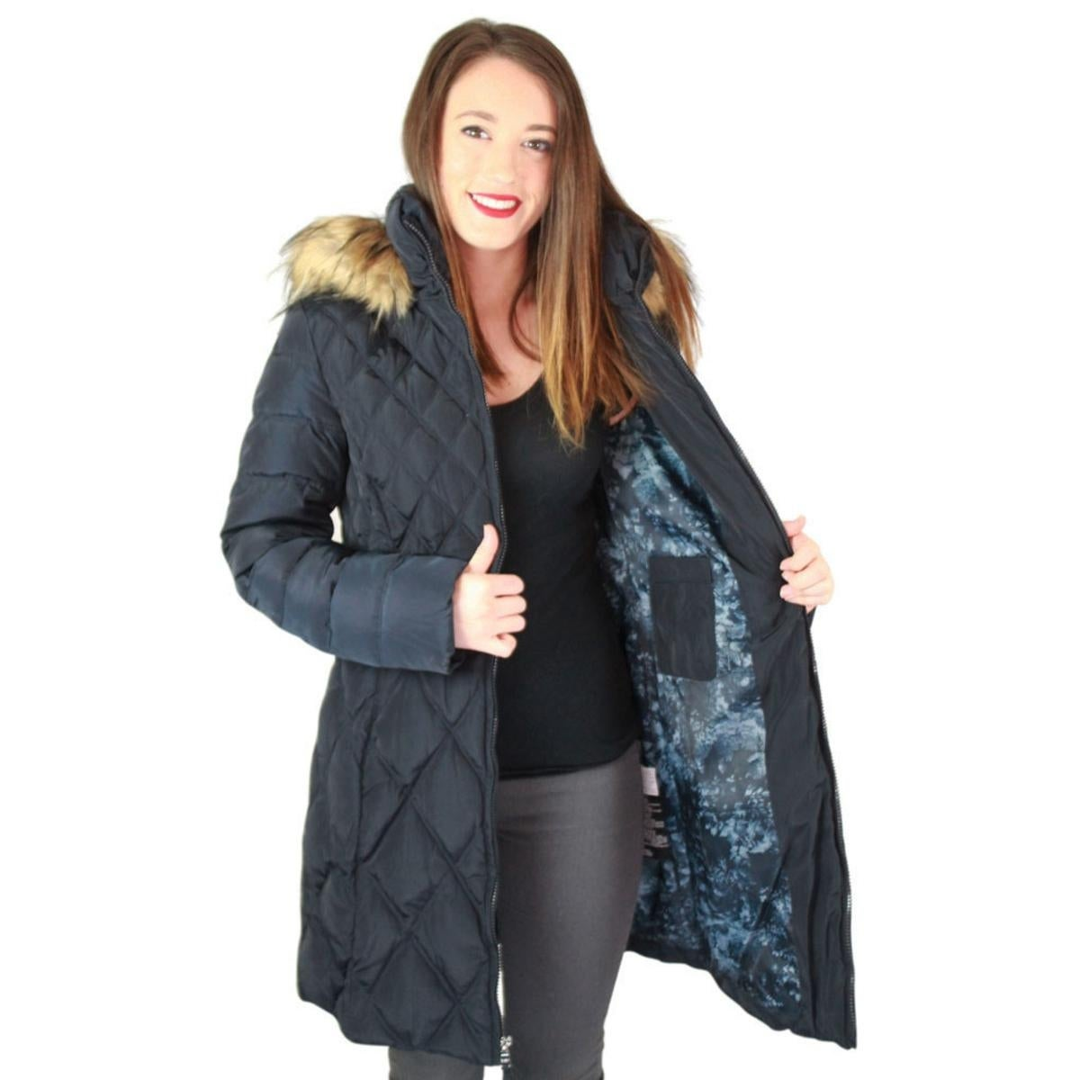 533808e4513 Shop Jessica Simpson Womens Parka Coat Down Quilted - On Sale - Free  Shipping Today - Overstock - 23622507