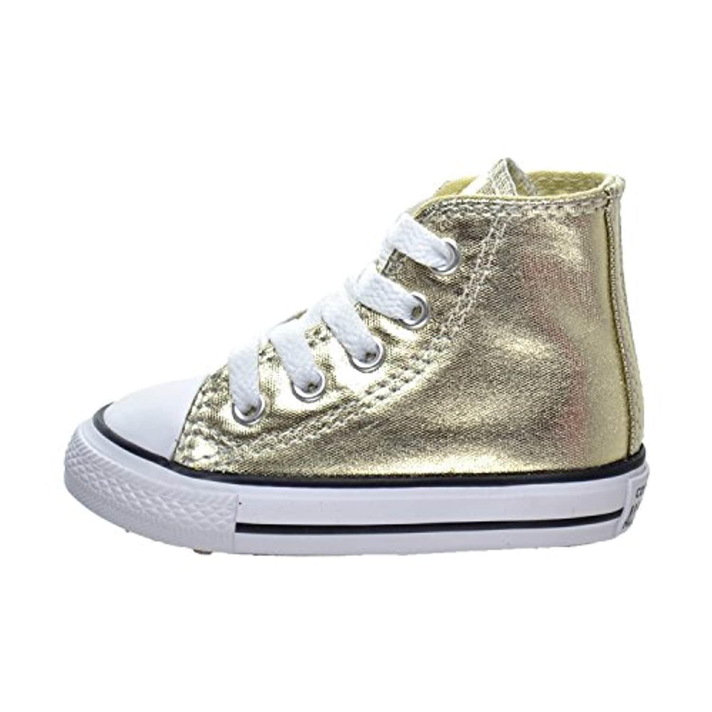 5749be926caa Shop Converse Kids Girls  Chuck Taylor All Star Metallic Canvas Hi (Infant Toddler)