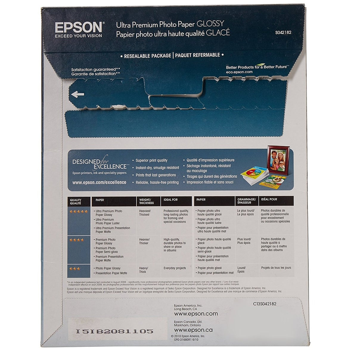 Epson - Open Printers And Ink - S042182