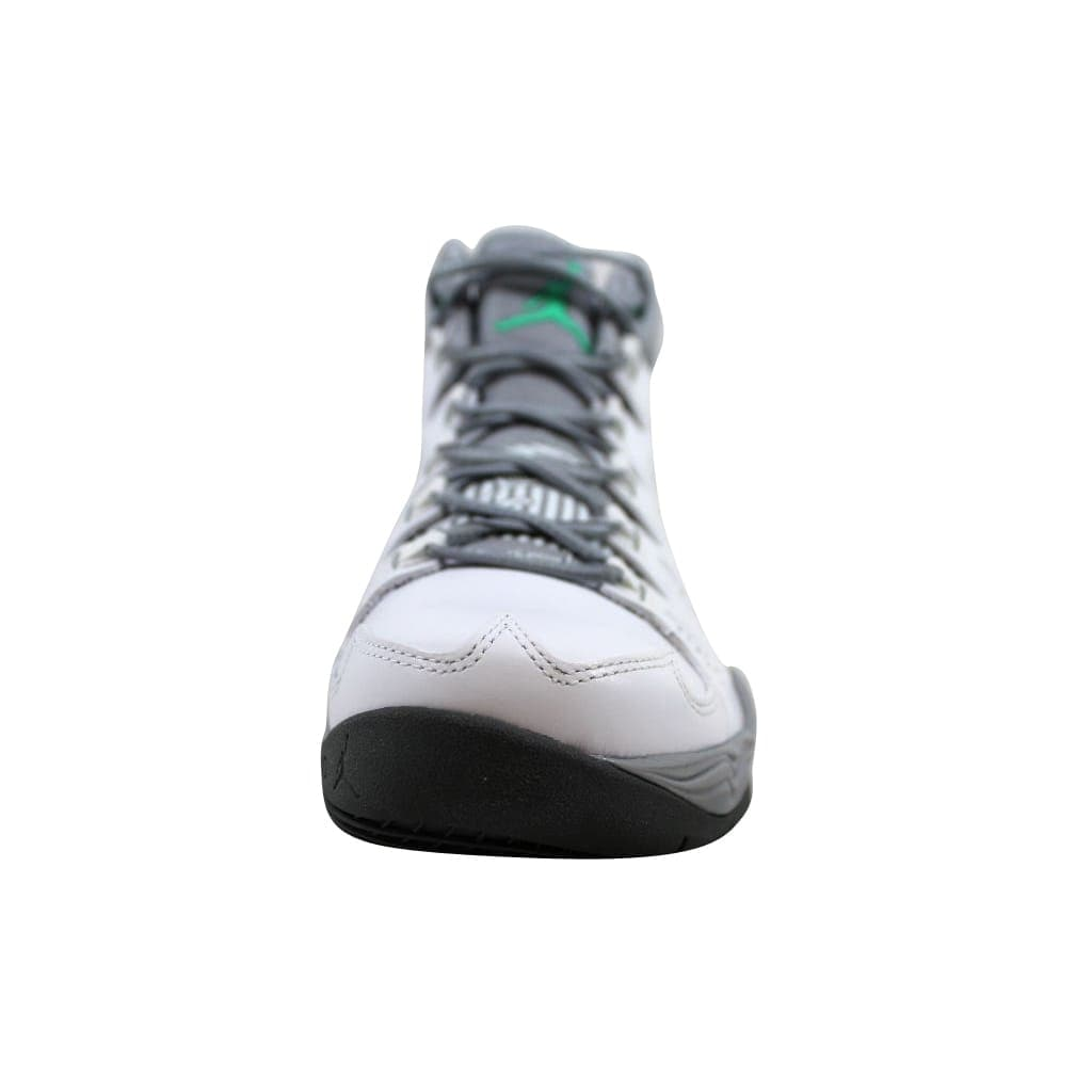 buy online 6b934 ae3f5 Shop Nike Men s Air Jordan Melo M10 White Green Glow-Wolf Grey-Cool Grey  629876-105 - Free Shipping Today - Overstock - 22340291
