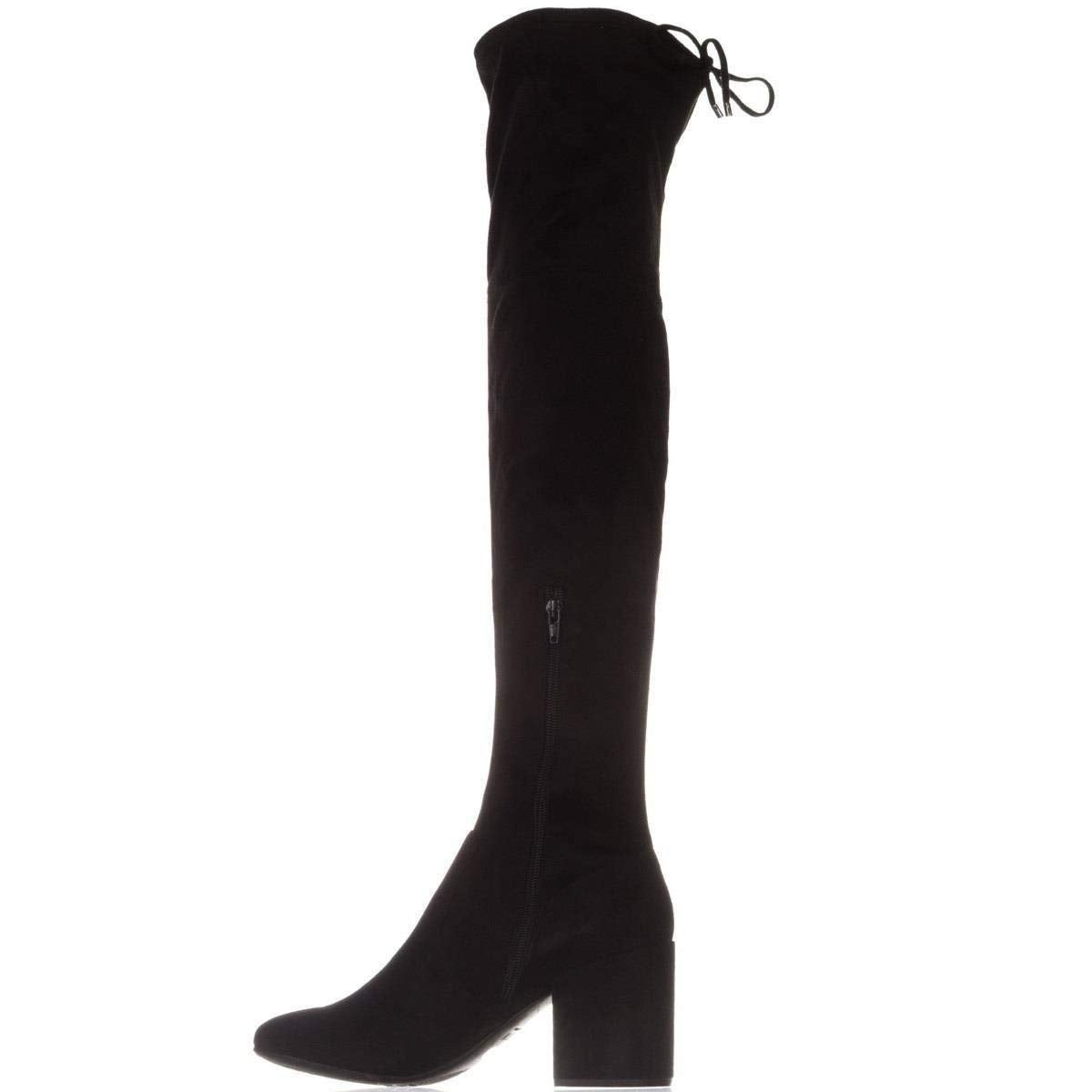 1bd9bf070ee Shop Bar III Womens Georgia Fabric Almond Toe Over Knee Fashion Boots -  Free Shipping On Orders Over  45 - Overstock - 24267085