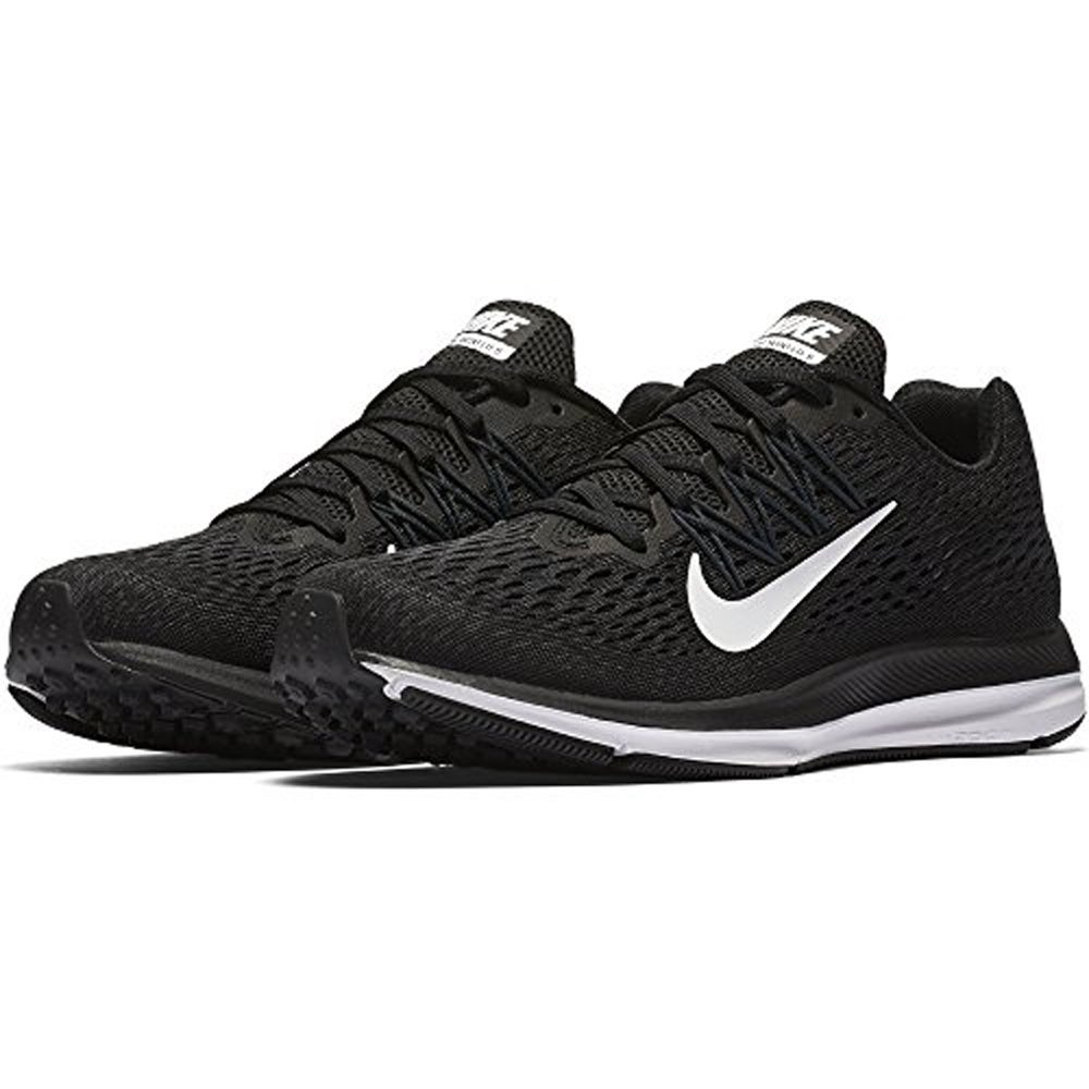 8574668104ce6 Nike Women s Air Zoom Winflo 5 Running Shoes Black White-Anthracite