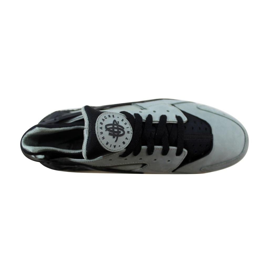 50be433286d9 Shop Nike Men s Air Huarache Run Premium Metallic Silver Metallic Silver-White  704830-301 Size 11.5 - Free Shipping Today - Overstock - 21141477