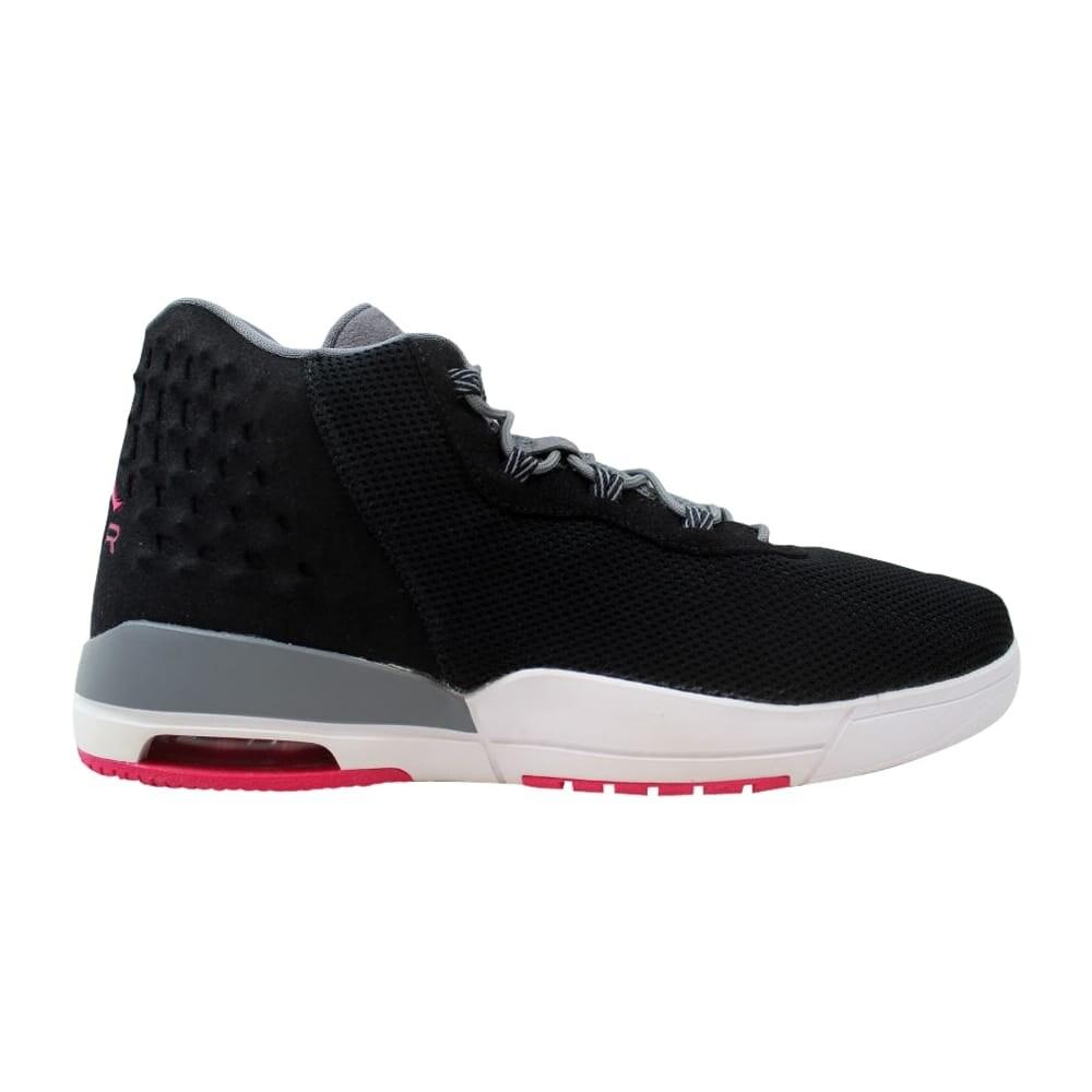 new concept f46df dfc26 Nike Air Jordan Academy GG Black Vivid Pink-Cool Grey 854290-007  Grade-School