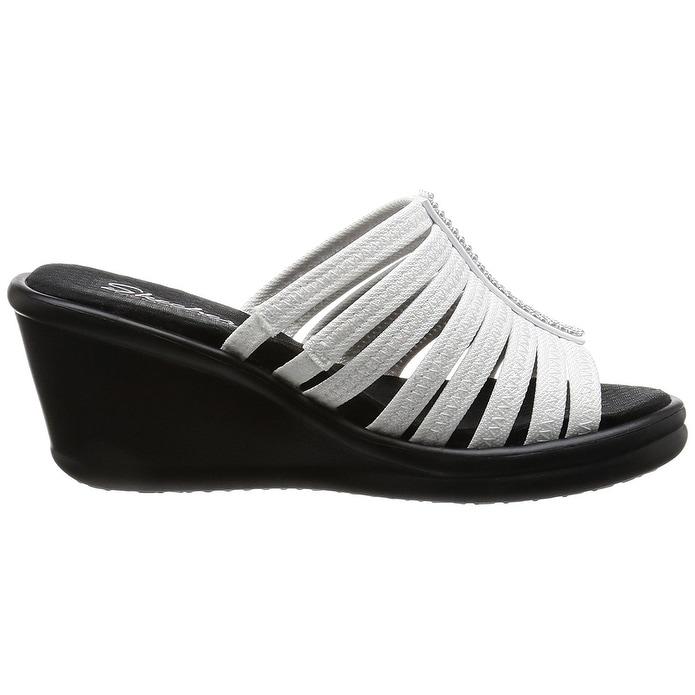d9ebd5d8bbd3 Shop Skechers Cali Women s Rumblers Hot Shot Wedge Sandal