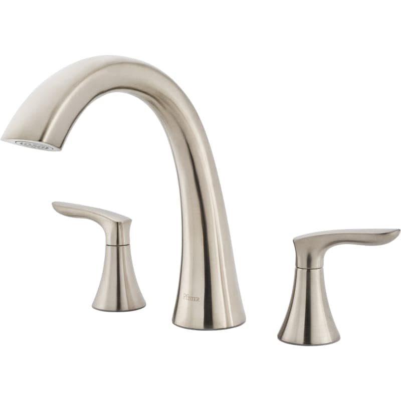 Shop Pfister RT6-5WR Weller Deck Mounted Roman Tub Faucet Trim with ...