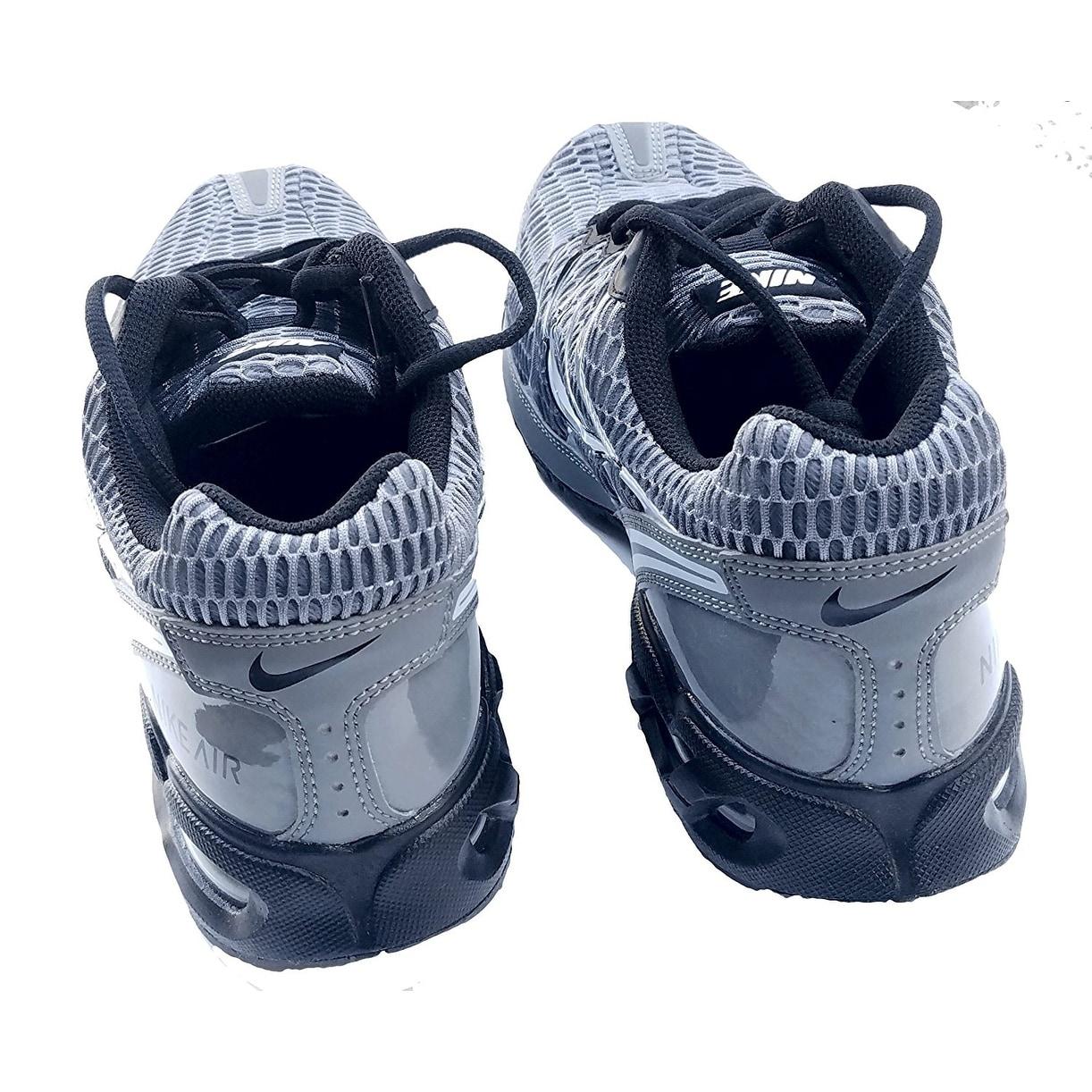 Shop Mens Nike Air Max Torch 4 Running Shoe Cool Grey White Black Tshirt Women Blue Navy M Pure Platinum Free Shipping Today 17941816