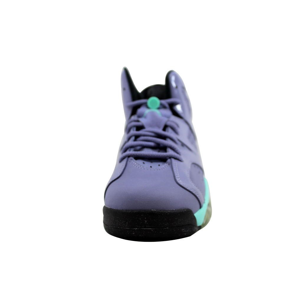 a2fb26bdacd1 ... authentic nike grade school air jordan vi 6 retro gg iron purple  bleached turquoise black 543390