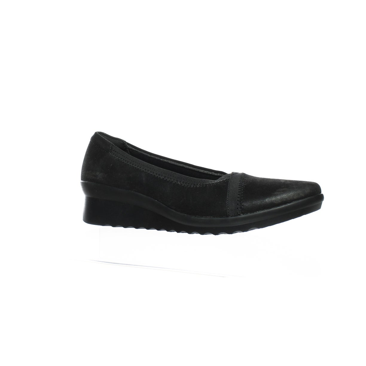 c53049858a5 Shop Cloudsteppers By Clarks Womens Caddel Dash Black Synthetic Heels Size  9 - Free Shipping On Orders Over  45 - Overstock.com - 24202967