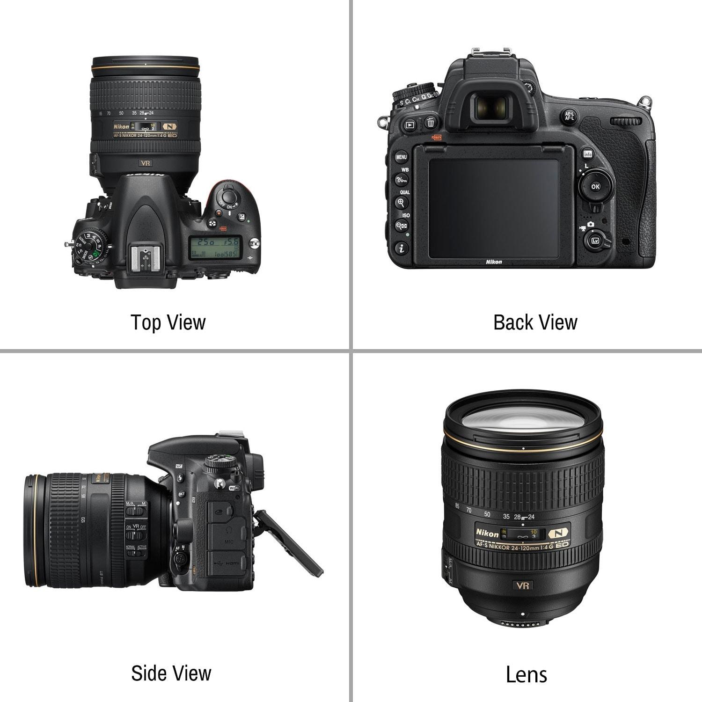 Nikon D750 DSLR Camera with 24-120mm Lens Wildlife Kit Intl Model